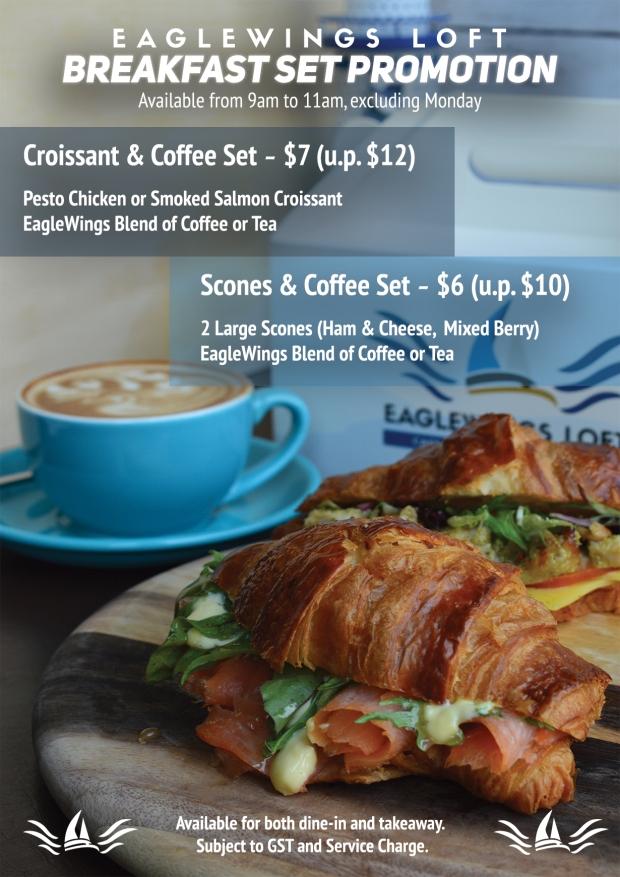 croissant breakfast set RGB
